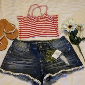 NWT Almost Famous shorts